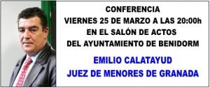 Emilio Calatayud -Conferencia 25 de Marzo del 2011
